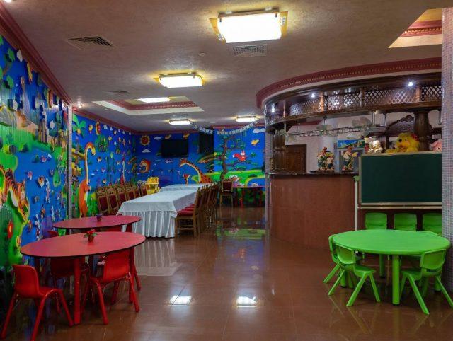 Дитяча кімната ресторану ТАТІ. Детская комната.
