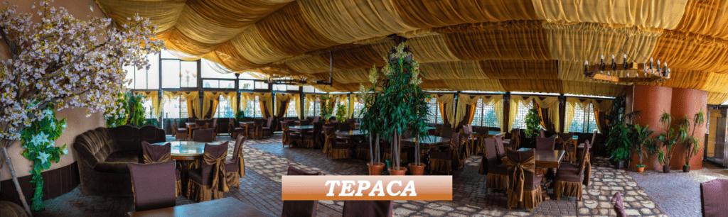 Літня тераса ресторану ТАТІ.