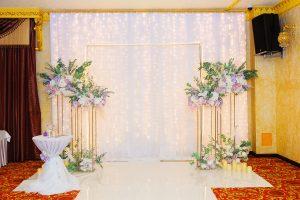Оформление и проведение выездной свадебной церемонии.