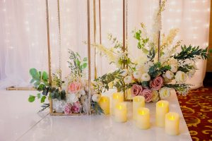 Эксклюзивные дизайнерские решения для оформления свадебных залов.